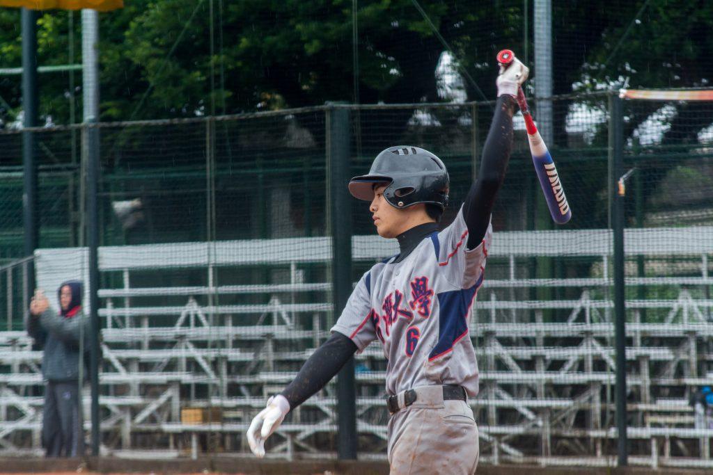 國立臺灣大學的鴨奧海斗,在冠軍賽中擊出兩支全壘打,並以1.0的打擊率獲得最佳打擊獎。 圖/臺大男壘提供